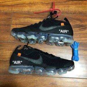 Nike Vapormax x Off White 2.0 Black Size 12